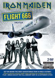 IRON MAIDEN - FLIGHT 666 / 2DVD