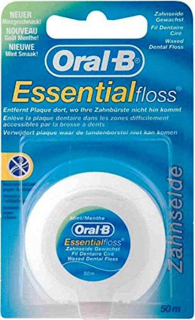 ORAL-B dentální nit Essential Floss Mint 50 m