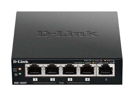 Switch D-Link DGS-1005P/E