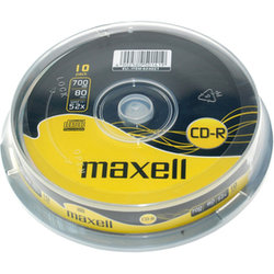 CD-R 700MB 52x 10SP 624027 MAXELL