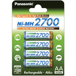 3HGAE/4BE AA 4x 2700 PANASONIC