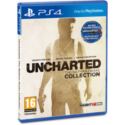 Uncharted Collection set 3 her PS4
