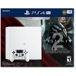 PS4 Pro 1TB white + Destiny 2 + PS Plus