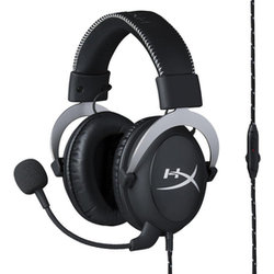 HyperX Cloud headset silver KINGSTON