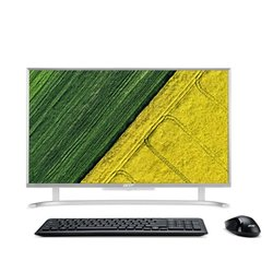 "Počítač All In One Acer Aspire AC22-760 21.5"",1920 x 1080,i3-7100U, 4GB, 1TB, bez mechaniky, HD 620, W10 Home - stříbrný"