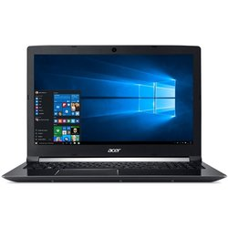"Ntb Acer Aspire 7 (A715-72G-57R2) i5-8300H, 4GB, OPT 16 GB, 1000 + 16 GB, 15.6"", Full HD, bez mechaniky, nVidia GTX 1050, 4GB, BT, FPR, CAM, W10 Home  - černý"