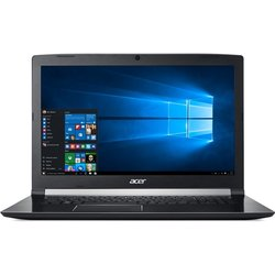"Ntb Acer Aspire 7 (A717-72G-57V7) i5-8300H, 8GB, OPT 16 GB, 1000 + 16 GB, 17.3"", Full HD, bez mechaniky, nVidia GTX 1050, 4GB, BT, FPR, CAM, W10 Home  - černý"