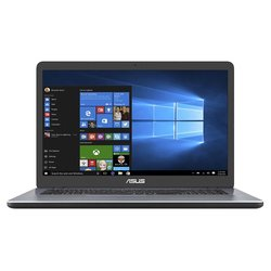 "Ntb Asus VivoBook 17 X705UA-BX417T i3-6006U, 4GB, 128+1000GB, 17.3"", HD+, bez mechaniky, Intel HD 620, BT, CAM, W10 Home  - šedý"
