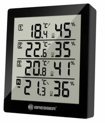 Bresser Temeo Hygro Quadro Weather Station-black