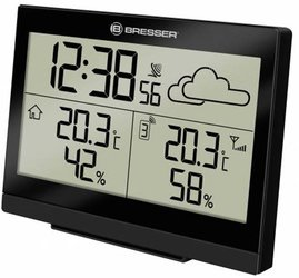 Bresser TemeoTrend LG RC Weather Station-black