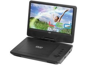 Trevi PDX 1409/BK  DVD Player with USB 9""