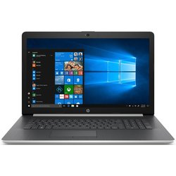 "Ntb HP 17-by0017nc i3-7020U, 8GB, 128+1000GB, 17.3"", Full HD, DVD±R/RW, AMD Radeon 520, 2GB, BT, CAM, W10 Home  - stříbrný"