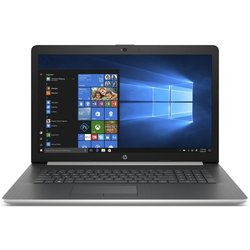 "Ntb HP 17-by1000nc i5-8265U, 8GB, 256+1000GB, 17.3"", Full HD, DVD±R/RW, AMD Radeon 530, 2GB, BT, CAM, W10 Home  - stříbrný"