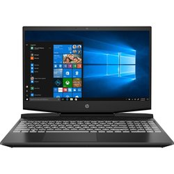 "Ntb HP Pavilion Gaming 17-cd0011nc i5-9300H, 8GB, 256GB+ 2000GB, 17.3"", Full HD, bez mechaniky, nVidia GeForce 1650, 4GB, BT, CAM, W10 Home  - černý/bílý"
