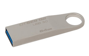 Flash USB Kingston DataTraveler SE9 G2 64GB USB 3.0 - kovový