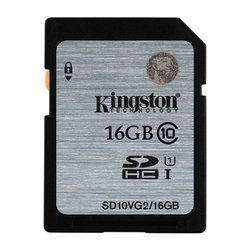 Paměťová karta Kingston SDHC 16GB UHS-I U1 (45R/10W)