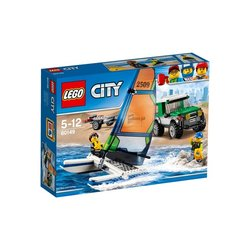 Stavebnice LEGO® CITY GREAT VEHICLES 60149 4x4 s katamaránem