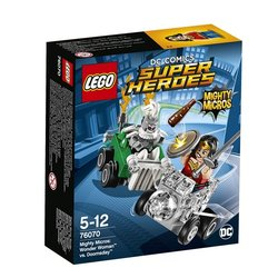Stavebnice LEGO® SUPER HEROES 76070 Mighty Micros: Wonder Woman™ vs. Doomsday™