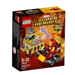 Stavebnice LEGO® SUPER HEROES 76072 Mighty Micros: Iron Man vs. Thanos