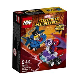 Stavebnice LEGO® SUPER HEROES 76073 Mighty Micros: Wolverine vs. Magneto