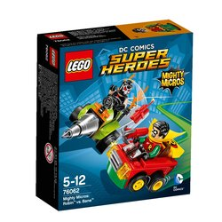 Stavebnice Lego® Super Heroes Mighty Micros 76062 Robin vs. Bane