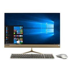 "Počítač All In One Lenovo IdeaCentre AIO 520S-23IKU 23"",1920 x 1080,i5-7200U, 8GB, 256GB, bez mechaniky, HD 510, W10 Home - zlatý"
