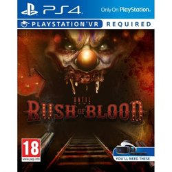 Hra Sony PlayStation VR Until Dawn Rush of Blood (PS4)