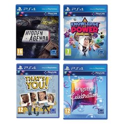Hra Sony PlayStation 4 Hidden Agenda + Knowledge is Power + SingStar Celebration + Thats You