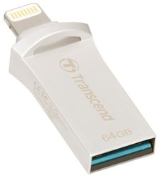 Flash USB Transcend JetDrive Go 500 64GB USB 3.1 - zlatý