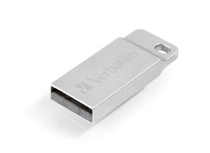 Flash USB Verbatim Store 'n' Go Metal Executive 16GB USB 2.0 - stříbrný