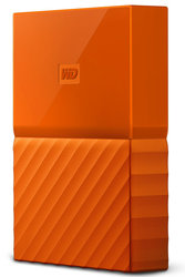 "HDD ext. 2,5"" Western Digital My Passport 2TB, USB 3.1 - oranžový"