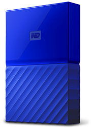 "HDD ext. 2,5"" Western Digital My Passport 4TB - modrý"