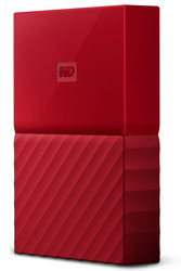 "HDD ext. 2,5"" Western Digital My Passport 4TB - červený"
