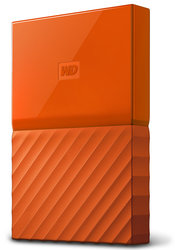"HDD ext. 2,5"" Western Digital My Passport 1TB - oranžový"