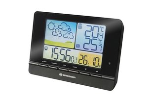 Bresser MeteoTrend Colour RC Weather Station,black