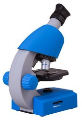 Bresser Junior 40x-640x Microscope, blue